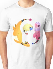 Ampharos and fam Unisex T-Shirt