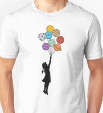 Planets Balloons T-Shirt