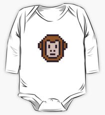 Pixel monkey One Piece - Long Sleeve