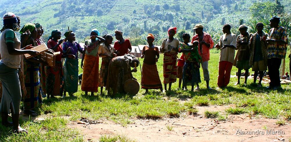 Pygmys of Uganda by Alexandra Martin