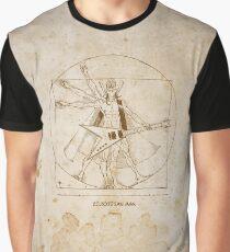 Ziltoidan Man Brown Graphic T-Shirt