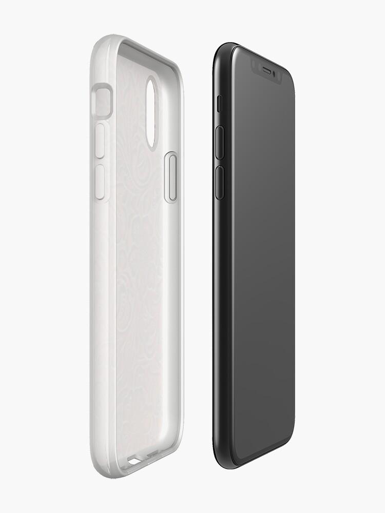 Alternative Ansicht von Poliertes Rich Brown Tooled Leder iPhone-Hülle & Cover