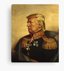God Emperor Trump  Canvas Print