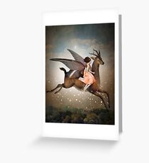 The Night Is Still Young Greeting Card
