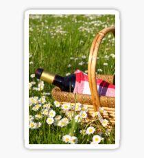 picnic basket Sticker