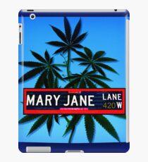 Mary Jane  Lane - 420 iPad Case/Skin