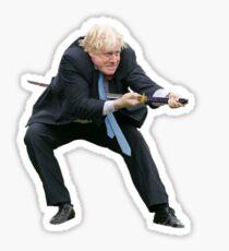 Boris does a Sudoku Sticker