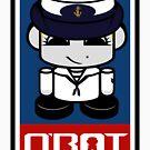 Sailor HERO'BOT Toy Robot 2.1 by Carbon-Fibre Media