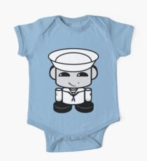 HERO'BOT Sailor Li Yi Short Sleeve Baby One-Piece