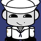 Sailor HERO'BOT Toy Robot 1.0 by Carbon-Fibre Media