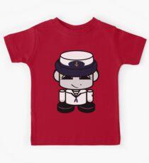 HERO'BOT Sailor Bailey Bot Kids T-Shirt