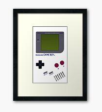 Classic Game Boy Framed Print