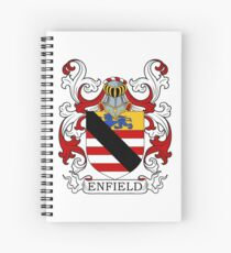 Enfield Coat of Arms Spiral Notebook