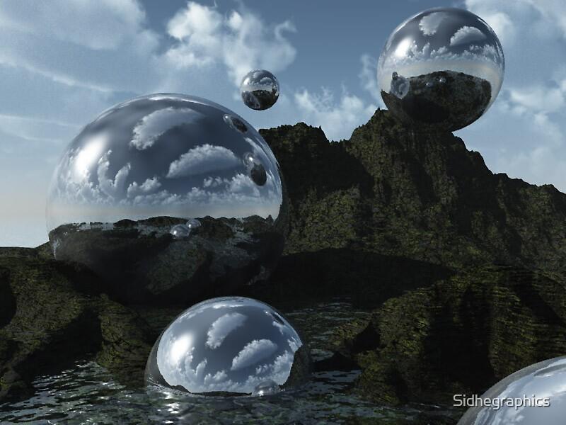 Bubble Worlds by Sidhegraphics