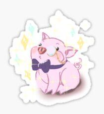Gentle pig Sticker