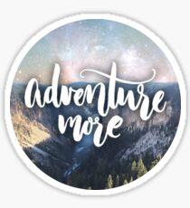 Adventure More Sticker