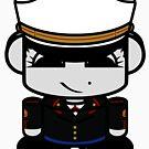 Marine HERO'BOT Toy Robot 2.0 by Carbon-Fibre Media