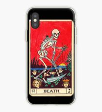 "Vinilo o funda para iPhone ""Muerte"", Tarot Card iPhone 6 Case"