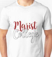 Marist College Curvy Lettering Unisex T-Shirt