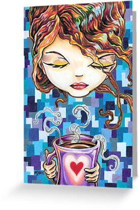 A Latte a Day Keeps the Blues Away by Bryan Collins