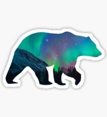 Nordlichter Bär Sticker