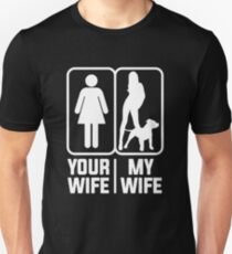 My Wife Pitbull Mom Unisex T-Shirt