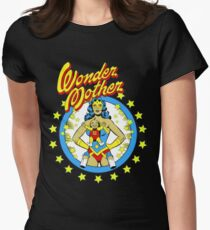 wonder mother Womens Fitted T-Shirt