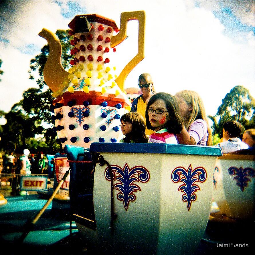 Teacups II by Jaimi Sands