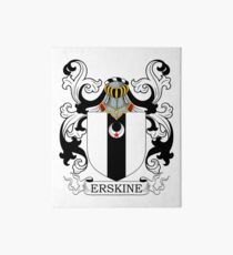 Erskine Coat of Arms Art Board
