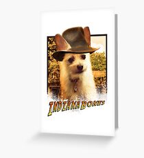 Indiana Bones Greeting Card