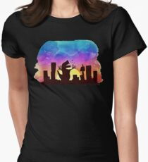 The beauty of a sunset Womens Fitted T-Shirt