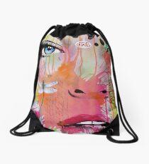 nothing happened Drawstring Bag