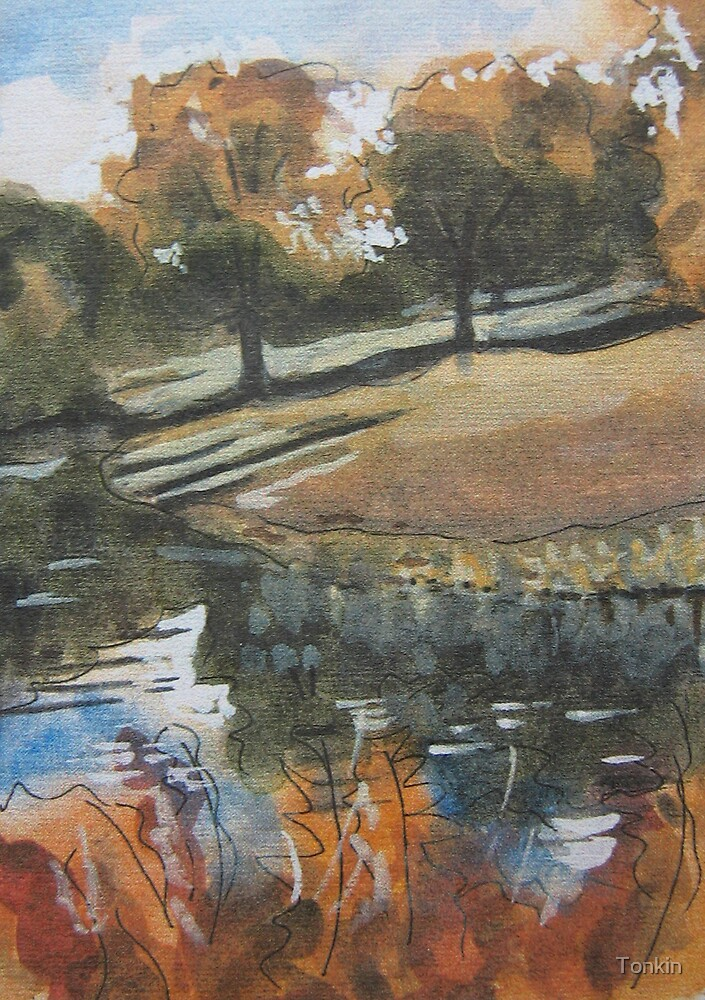 Stourhead Gardens, Wiltshire by Tonkin