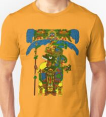 Great Mayan ruler of Tikal on his throne Unisex T-Shirt