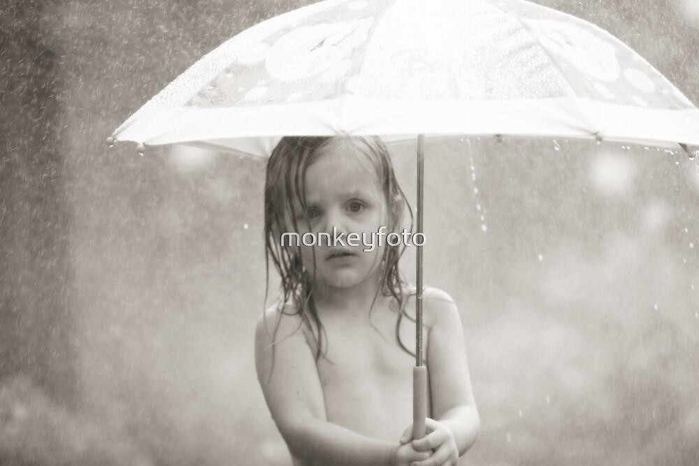 It's raining... by monkeyfoto