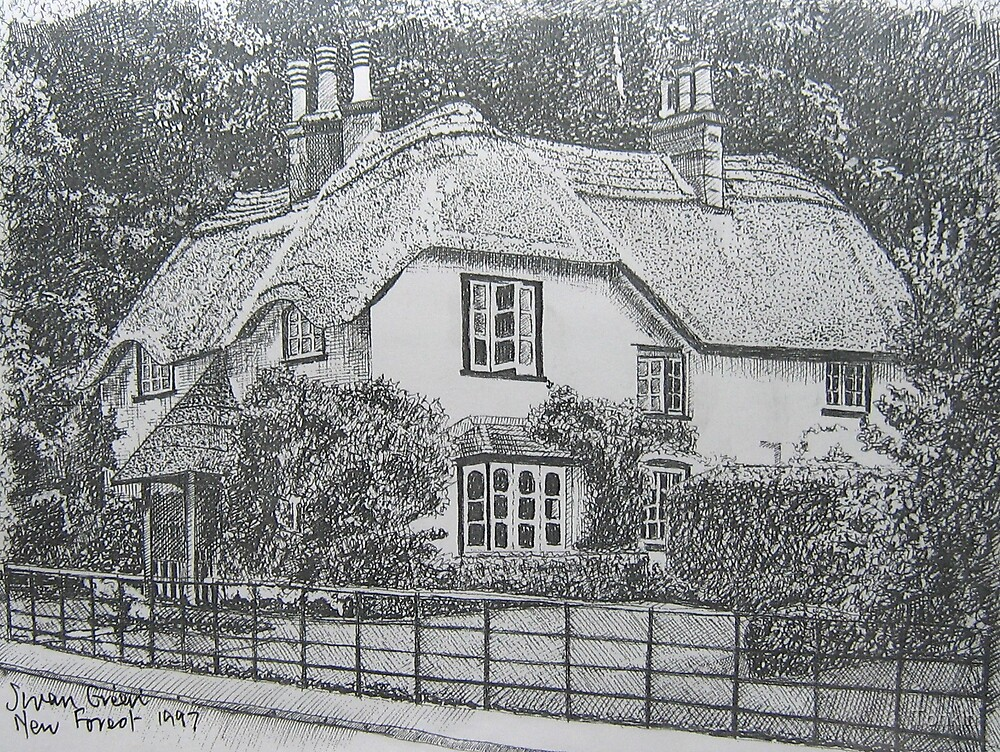 Swan Cottage, New Forest by Tonkin