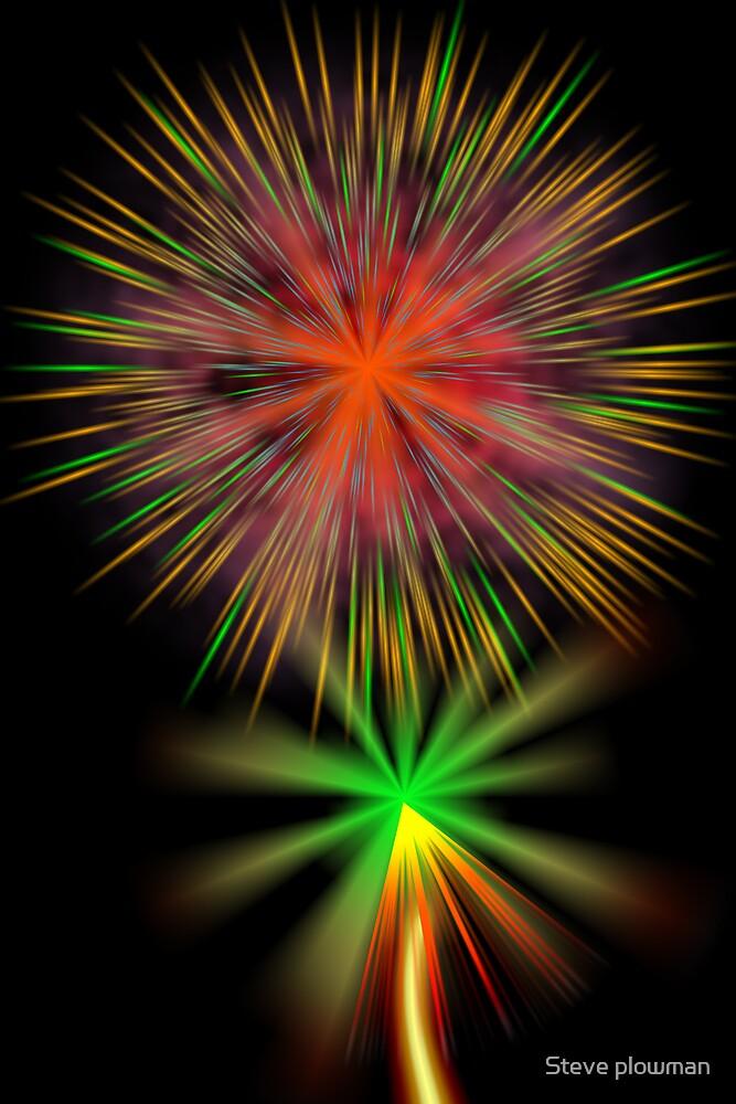 Fireworks by Steve plowman