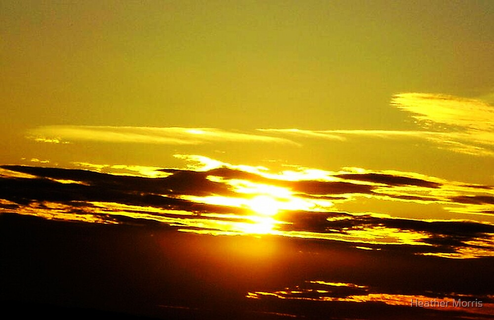 NY Sunset by Heather Morris