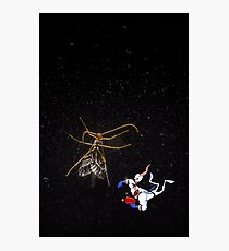 Jim in Space Photographic Print