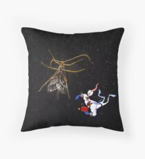 Jim in Space Throw Pillow