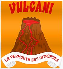 Vulcani - Le vermouth des intrepides Poster