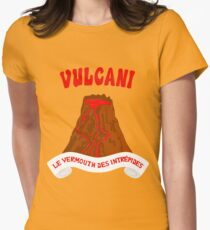 Vulcani - Le vermouth des intrepides Women's Fitted T-Shirt