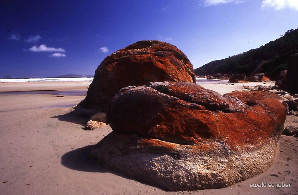 red rock by ewald schober