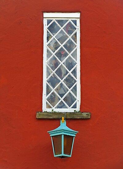 Window and Lantern by Yampimon