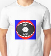 Vinyl Mouth - Indie Music Unisex T-Shirt