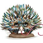 The Little Echidna by © Karin Taylor