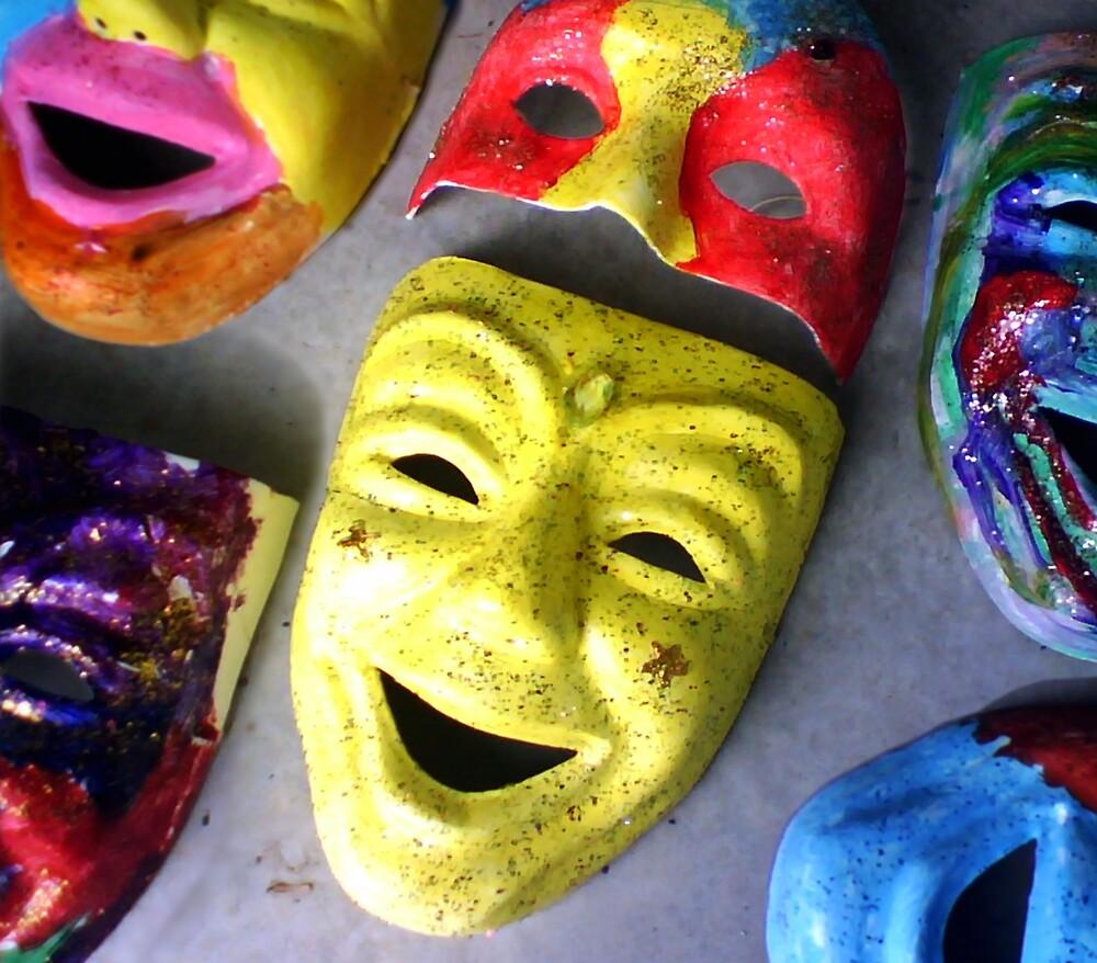 Masks by Allan Gowen