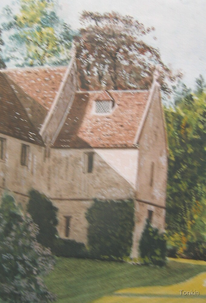 Lacock Abbey, Wiltshire by Tonkin