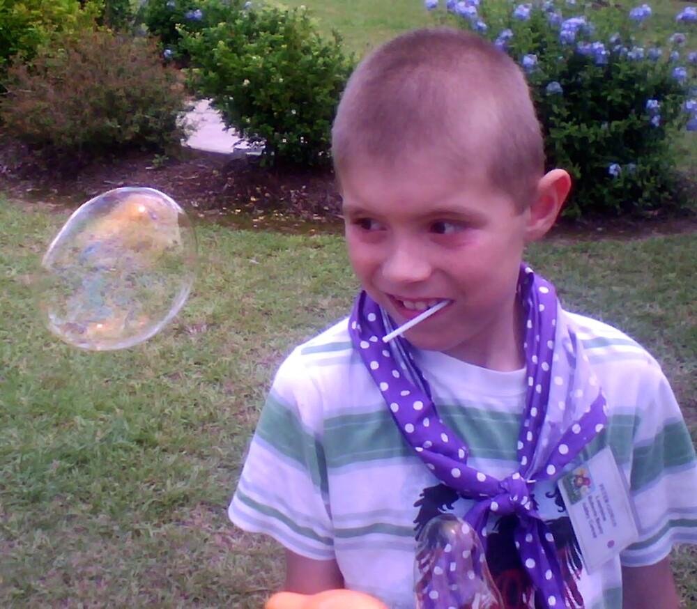 Watch the Bubble by Allan Gowen