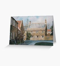 The Borough, Montacute, Somerset Greeting Card